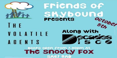 Friends of Skybound Gig Night - The Volatile Agents and Special Guests tickets