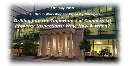 Drilling into the Importance of Commercial Property Inspections: Why, How and When? tickets