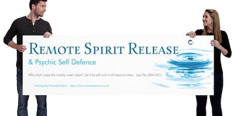 Remote Spirit Release -  Practitioner Training. August 2019 tickets