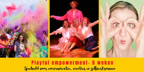 Playful Empowerment 3 weekse training tickets