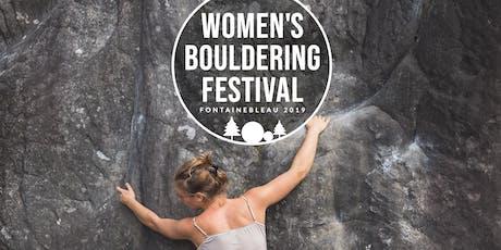Women's Bouldering Festival 2019   Fontainebleau tickets