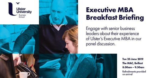 Executive MBA Breakfast Briefing Event 2019