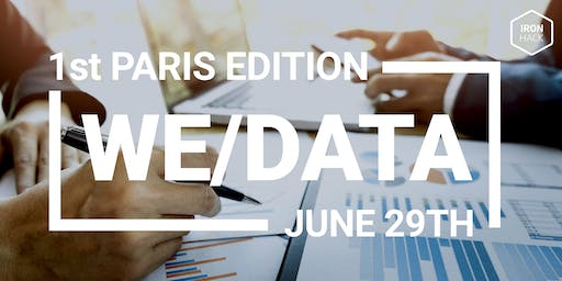 WE/DATA - #1 Edition Paris