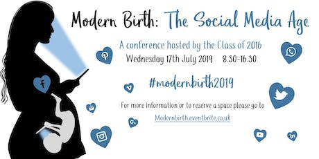 Modern Birth: The Social Media Age tickets