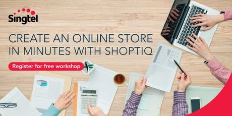 Shoptiq x Impossible Marketing: Create your online store in minutes tickets