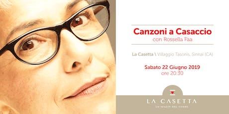 Canzoni a Casaccio tickets