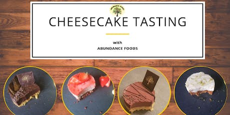 Abundance Foods Cheesecake Tasting Events tickets