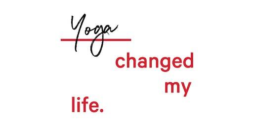 International day of yoga with Lululemon Canary Wharf