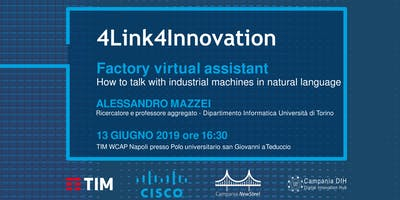 Industry 4.0: Factory virtual assistant