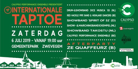 9e Internationale Taptoe Zwevegem tickets