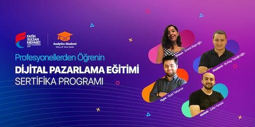 Dijital Pazarlama Uzmanlığı Sertifika Programı | İSTANBUL (Ücretli)