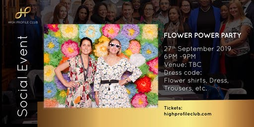 Social Event: Flower Power Party