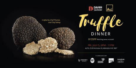 Au79 Damm Good Truffle Dinner tickets