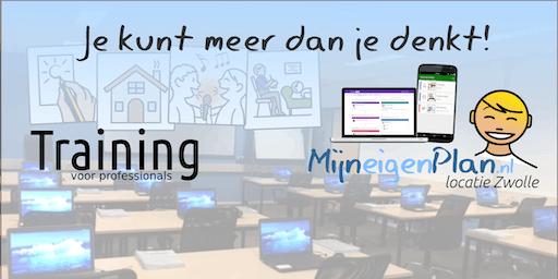 MijnEigenPlan Training voor professionals November 2019