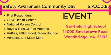 Safety Awareness Community Day Event (S.A.C.D.E) tickets