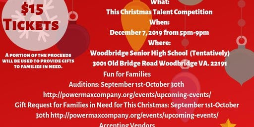 This Christmas Talent Competition