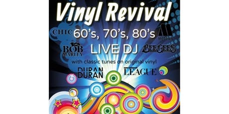 60s, 70s & 80s Party Night at The Fieldhouse - ft Vinyl Revival tickets