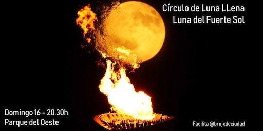 Círculo de Luna Llena - Luna del Fuerte Sol