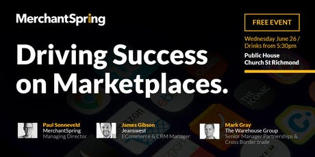 Driving Success on Marketplaces tickets