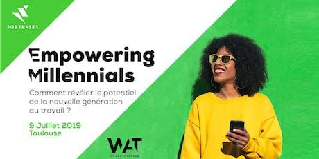 Matinée WAT x JobTeaser : Empowering Millennials billets