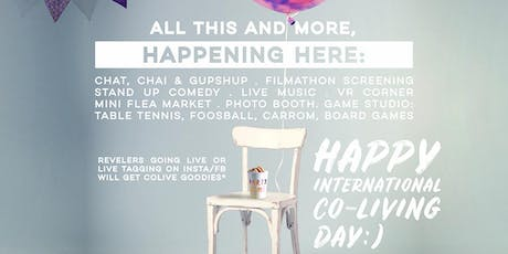 Colive ushers in a one-of-a-kind day named 'International  Co-living Day on June 1 st tickets