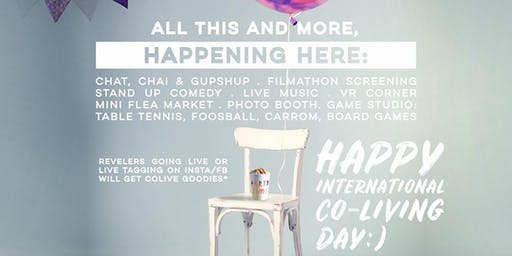 Colive ushers in a one-of-a-kind day named 'International  Co-living Day on June 1 st