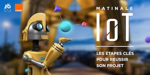 Matinale IoT - Les étapes clés pour réussir son projet