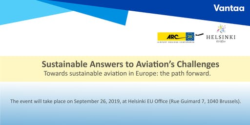 Sustainable Answers to Aviation's Challenges