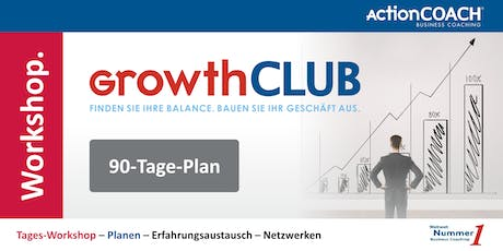 GrowthCLUB - 90-Tage-Plan Tickets