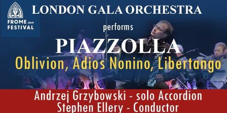London Gala Orchestra performs Piazzola tickets