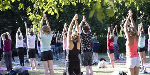 Free Yoga Classes in St. Anne's Park - from Camile Thai