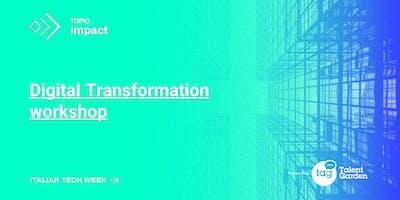 Italian Tech Week | Digital Transformation Workshop