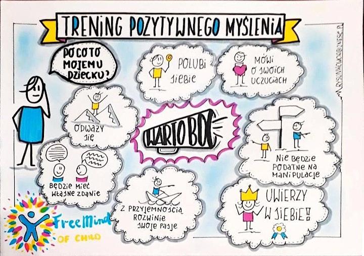 """Warsztaty dla dzieci """"Trening Pozytywnego Myślenia"""" image"""