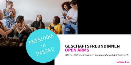 *Unternehmerinnen-Treffen* Geschäftsfreundinnen OPEN ARMS Tickets