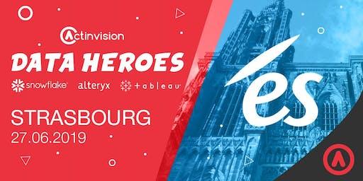 Actinvision X ÉS Électricité de Strasbourg / Data Heroes Strasbourg