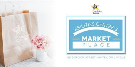 Abilities Centre July Market Place - Vendor Registration tickets