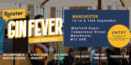 GIN FEVER FESTIVAL @ Mayfield Depot tickets