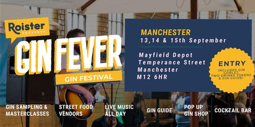 GIN FEVER FESTIVAL @ Mayfield Depot