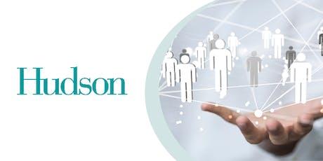 Hudson Infosessie - Willen, durven, doen. billets