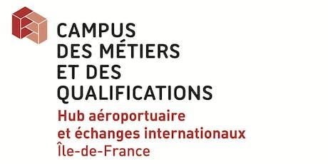 Découverte des métiers du transport aérien et de l'industrie aéronautique - SIAE 2019 billets
