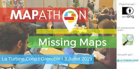 Mapathon Missing Maps à Grenoble @La Turbine.coop tickets