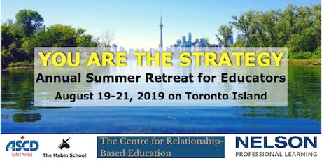You Are the Strategy: Annual Summer Retreat for Educators tickets