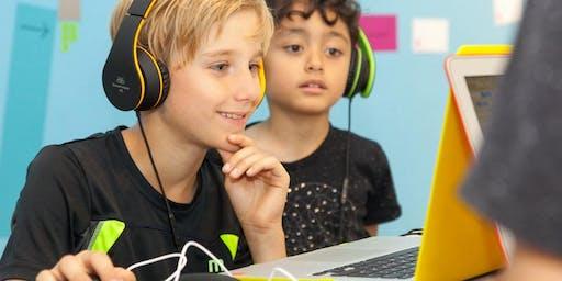 Schnupperworkshop: Creative Coding (8-12 Jahre)