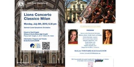 Lions Concerto Classico biglietti