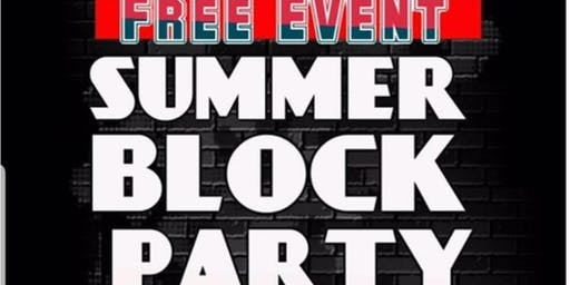 Summer Block Party & Talent Show!!!
