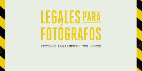 Legales para fotógrafos - Dicta: Pali Rossi (Marken Co.) entradas