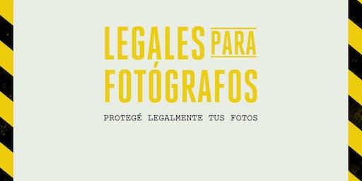 Legales para fotógrafos - Dicta: Pali Rossi (Marken Co.)