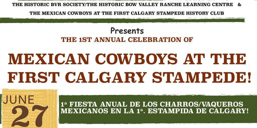 Mexican Cowboys at the First Calgary Stampede