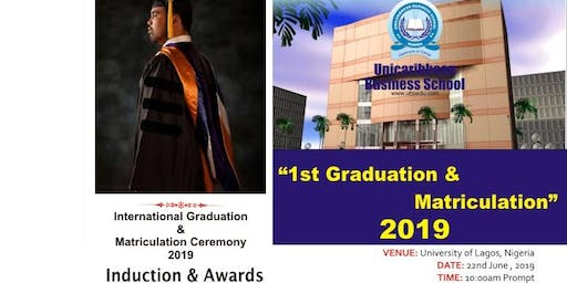 Convocation & Matriculation 2019 - Education best for the future in Africa