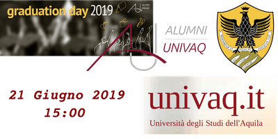 #UnivAQ Graduation Day 2019